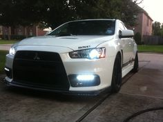 """*Official Slammed/Stanced Evo X*  Cambered the f out auto cross evo.  My boy """"Exyia"""""""