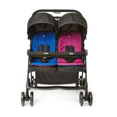 Superb Joie Aire Twin Stroller Blue/Pink Now At Smyths Toys UK! Buy Online Or Collect At Your Local Smyths Store! We Stock A Great Range Of Baby Travel Accessories At Great Prices.