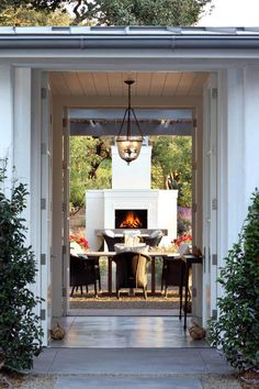 Beautiful farmhouse in Sonoma County by Jim Murphy and Associates - CAANdesign Pergola Designs, Patio Design, House Design, Outdoor Spaces, Outdoor Living, Outdoor Decor, Indoor Outdoor, Wooden Pergola Kits, Farmhouse Style Kitchen