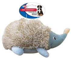 Ethical Pets Nosy Hedgehog Plush Dog Toy, 10' >>> You will love this! More info here : Dog Toys
