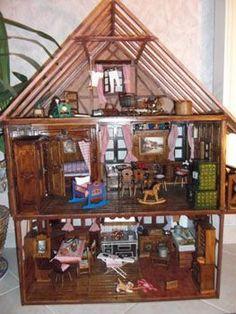 1000 images about maison barbie on pinterest dollhouses french school and barbie - Plan de maison de barbie ...