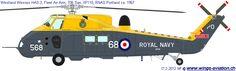 Westland Wessex HAS 3 706 Sqn Fleet Air Arm 1967