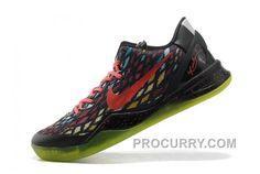 promo code 38937 8e8bc Nike Zoom Kobe Ix Mens Christmas Black Red