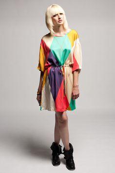 $215 Anrealage Circus Shirt Dress #dress #fashion