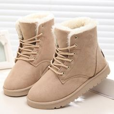 big sale cd5dc 38230 New Warm Winter Boots Women Ankle Girls Boots Classic Suede Snow Boots  Female Fur Insole High Quality Botas Mujer. JOHNKART.COM. Boots For WomenWinter  Shoes ...