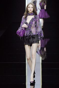 Elie Saab Spring 2008 Ready-to-Wear Fashion Show - Bruna Tenorio