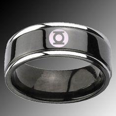 green lantern wedding ring - Green Lantern Wedding Ring