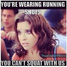 How can one even squat in them?