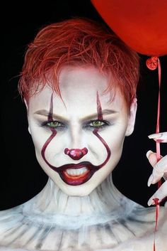 Newest Halloween Makeup Ideas to Complete Your Look ★ See more: http://glaminati.com/halloween-makeup-ideas/