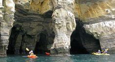 La Jolla Sea Cave Kayaks, San Diego