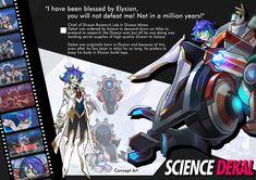 Concept artwork for Science Dekal.