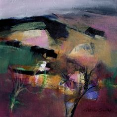 "Patricia Sadler ""border landscape"" check out her landscapes on her website : http://www.patriciasadler.co.uk/landscapes.php - beautiful"