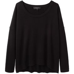 Rag & Bone Noelle Oversized Pullover (395 BRL) ❤ liked on Polyvore featuring tops, sweaters, shirts, jumpers, slouchy shirts, oversized shirts, pullover shirt, long sleeve shirts and slouchy sweater