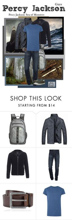 """""""Guys: Percy Jackson"""" by jess-nichole ❤ liked on Polyvore featuring adidas, Woolrich, AG Adriano Goldschmied, BOSS Orange, Topman, New Balance Classics, men's fashion and menswear"""