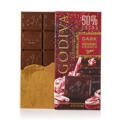Large 50% Dark Chocolate Peppermint Crunch Bar #GODIVA ($5.00)