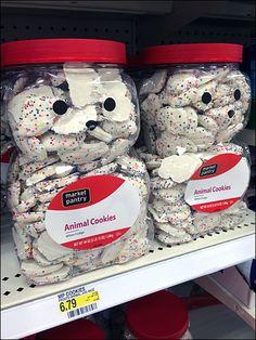Animal Cookies Animal Jar