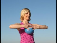 Element Total Body Pilates with Ball - YouTube