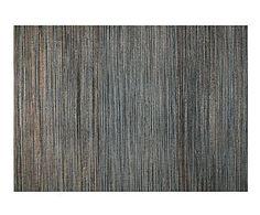 Alfombra de yute y algodón, gris – 240x170 cm
