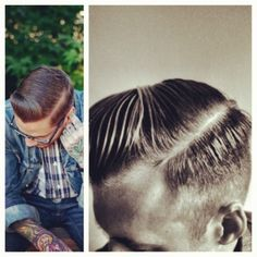 @bhcdavebruno #pompadour #barber  patdoody, instagr.am      Love this style.  http://flpbd.it/ffpqo