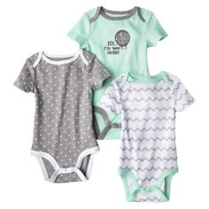 Target onesies...so even though I'm not pregnant and have no plans soon can I still buy baby clothes? So cute.