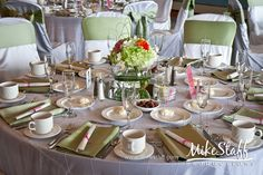 #wedding reception decorations #centerpieces #tablescapes #reception details #Michigan wedding #Mike Staff Productions #wedding details #wedding photography http://www.mikestaff.com/services/photography #short centerpieces