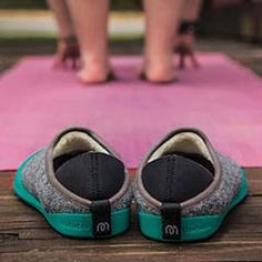 mahabis classic slipper with gotland geen sole // #mahabisselfie #yoga