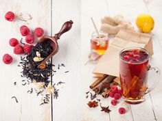 "500px / Photo ""Tea with Raspberry"" by Natalia Lisovskaya"