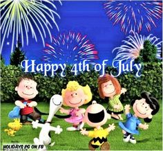 A Peanuts Happy pieces) Happy July 4th Images, Fourth Of July Quotes, Happy 4 Of July, Snoopy Love, Charlie Brown And Snoopy, Snoopy And Woodstock, Snoopy Pictures, July Holidays, Snoopy Quotes