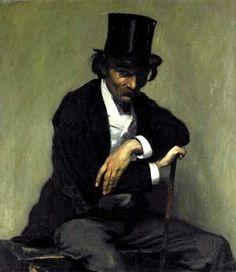 Louis Anquetin (French, 1861-1932),Portrait de Paul Napoléon Roinard, 1893. Oil on canvas, 97 x 86cm.Musée des Beaux-arts de Rouen