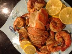 Seafood delight....