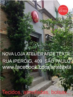 NEW STORE TEXTILE ART IN SAO PAULO  AWESOME!!!!!