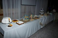 mesa de dulce Big Day, Table Decorations, Furniture, Home Decor, Candy Stations, Mesas, Wedding, Decoration Home, Room Decor