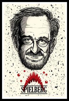 Steven Spielberg - Best Cinema Directors on Behance Iconic Movies, Cinema Movies, Cult Movies, Good Movies, Film Movie, Famous Movie Directors, Hacker Logo, Non Plus Ultra, Instagram Background