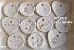 DIY :: Clay Ornaments