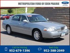 2006 Lincoln Town Car Signature 182k miles $4,995 182194 miles 952-679-1396 Transmission: Automatic  #Lincoln #Town Car #used #cars #MetropolitanFord #EdenPrairie #MN #tapcars