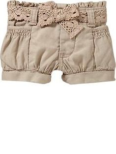 Just ordered these shorts for Bailey Ann! Aren't they so adorable! Old Navy- gotta love em!