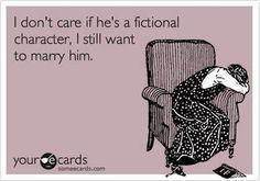 Peeta, Christian Grey, Mr. Darcy in Bridget Jones, the list goes on....