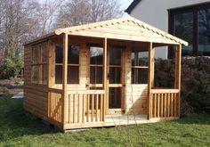 Sunshed Summerhouses - Apex & Pent Roof Styles from Sheds Direct Devon