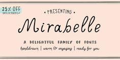 Mirabelle™ - Webfont & Desktop font « MyFonts