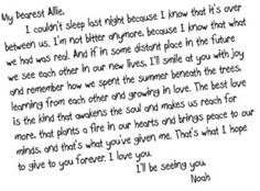 the notebook...kills me... every.single.time. And yet I watch it every time it's on, like right now. Ugh