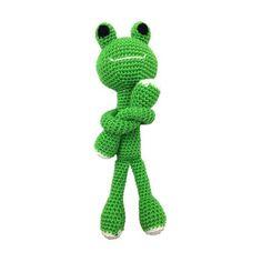 DIY Frog Amigurumi Knit & Crochet Starter Kit