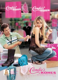 2005: Hilary Duff for Candie's!