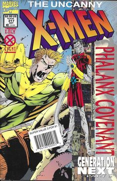 Marvel Uncanny X Men Comic Issue 317 Marvel Comics Covers The Uncanny X Men