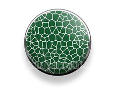 Pick your favorite color | Snap Jewelry Snakeskin Accent Interchangeable Button - Green