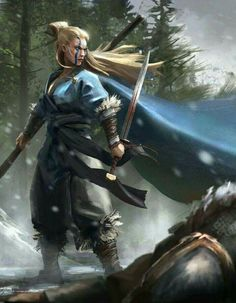 Pois eis que o rei de Nivengard convocou as Guerreiras de Ochúrio para a Batalha Fria.