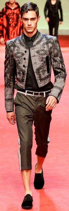 Dolce & Gabbana Fashion Show Details