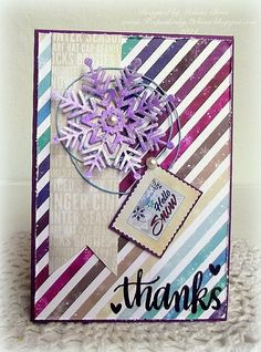 Creating from the Heart: ♥ Snow many snowflakes ♥ {SSS January 2015 Card Kit}
