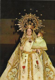 Nuestra Señora de Gracia. Patrona de San Lorenzo del Escorial. LVA-15