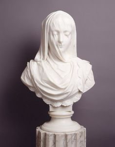 Veiled Lady ArtistRossi, Pietro Date1882 Mediummarble
