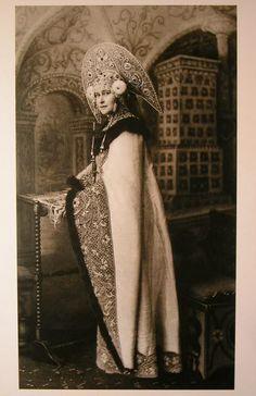 Grand Duchess Elizabeth Feodorovna at a ball at Winter Palace (1903)